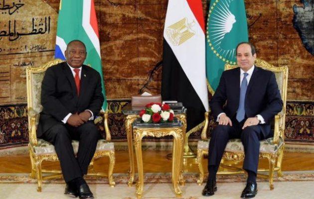 Αλ Σίσι: Η Αίγυπτος υποστηρίζει τον Λιβυκό Εθνικό Στρατό στην εξάλειψη της τρομοκρατίας