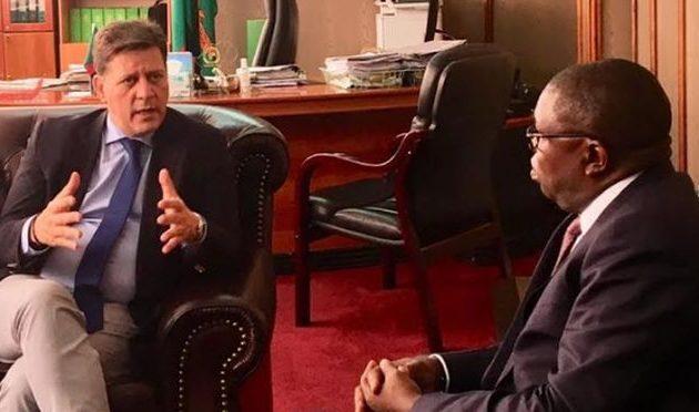 Ολοκληρώθηκε η επίσκεψη Βαρβιτσιώτη στη Ζάμπια – Μεταβαίνει στην Τανζανία