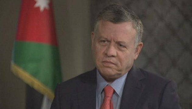 Πλήρη στήριξη στην Κύπρο από τον βασιλιά Αμπντάλα της Ιορδανίας