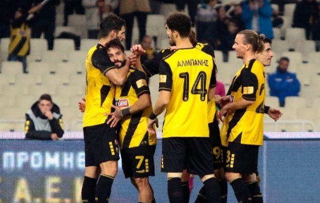 Η ΑΕΚ διέσυρε με 5-0 τον Πανιώνιο