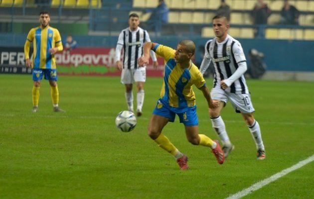 Άνετη νίκη στο Αγρίνιο για τον ΠΑΟΚ 3-0 τον Παναιτωλικό