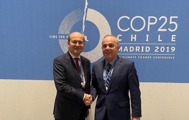 Χατζηδάκης και Στάινιτς μίλησαν για EastMed και διασύνδεση Κρήτης-Ισραήλ
