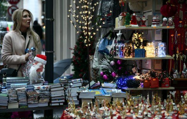 Το εορταστικό ωράριο των καταστημάτων έως και την Πρωτοχρονιά