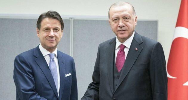 Ερντογάν: Συζητάμε με Ιταλία για κοινές γεωτρήσεις στη Μεσόγειο