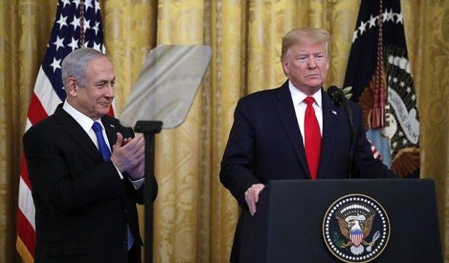 Τραμπ: Τεράστιο βήμα προς την ειρήνη το σχέδιο για τη Μέση Ανατολή