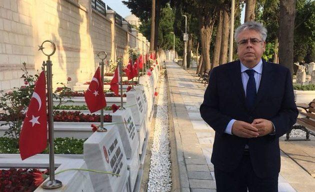 «Πότε θα υπάρξει επιστροφή στην ομαλότητα στην Τουρκία» αναρωτιόταν ο Σάντσες Άμορ