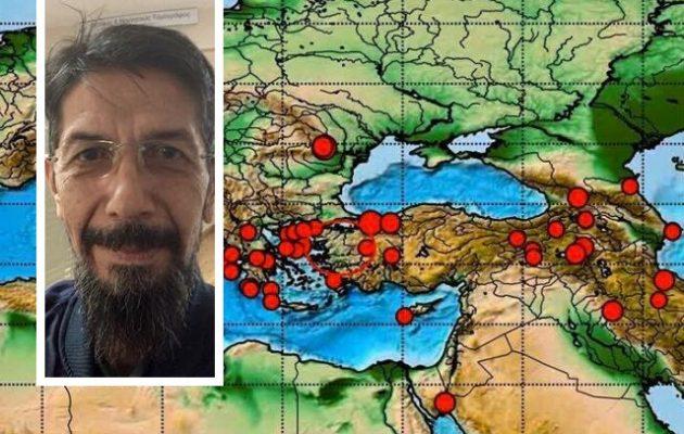 Γερ. Χουλιάρας: Πιθανός ένας μεγάλος σεισμός στην Τουρκία