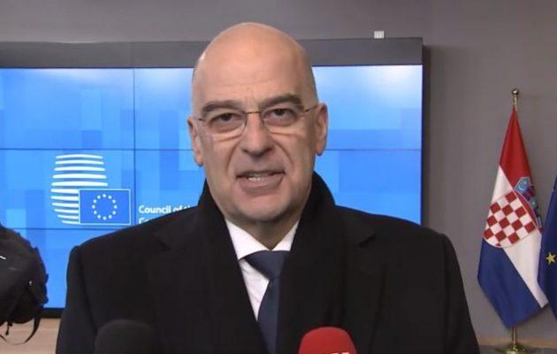 Νίκος Δένδιας: Υποστηρίζουμε αποκλιμάκωση με το Ιράν – Άκυρα τα μνημόνια Άγκυρας-Τρίπολης