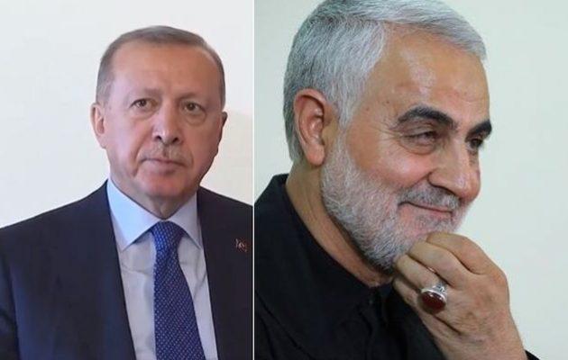 Ο Σολεϊμανί θα συναντούσε τον Ερντογάν – Τους «πρόλαβε» ο θάνατος