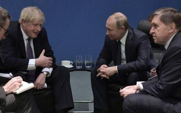 Ο Μπόρις είπε στον Πούτιν ότι δεν θα τα φτιάξουν όσο είναι άτακτος