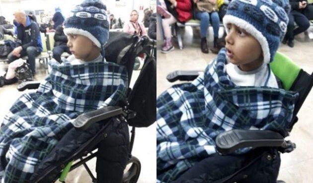 8χρονος Τούρκος καρκινοπαθής ταξίδεψε για θεραπεία χωρίς γονείς γιατί διώκονται ως «Γκιουλενιστές»