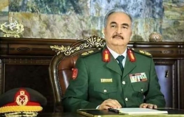 Ο στρατάρχης Χαφτάρ έφυγε από τη Μόσχα – Αρνήθηκε να υπογράψει τα σχέδια Ρωσίας-Τουρκίας