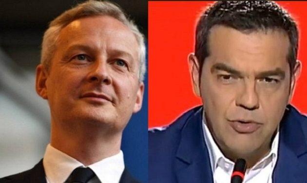 Μπρούνο Λεμέρ: Έδωσε συγχαρητήρια στον Αλέξη Τσίπρα μπροστά σε όλους τους υπουργούς της ΝΔ