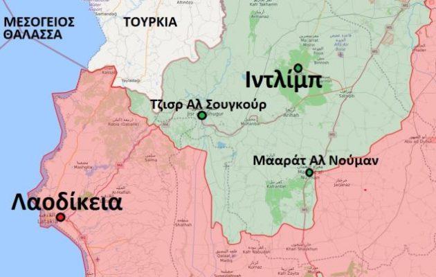 Ο συριακός στρατός έξω από τη Μααράτ Αλ Νούμαν της Ιντλίμπ – Σε απελπισία οι τζιχαντιστές