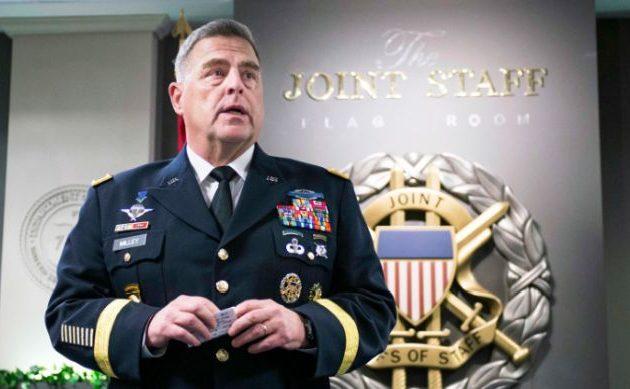 Μαρκ Μίλεϊ: Υψηλή πιθανότητα ιρανικής επίθεσης σε βάρος των ΗΠΑ