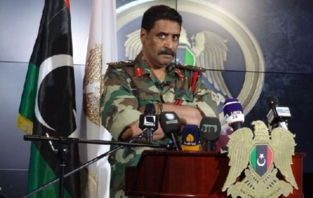 Ο Λιβυκός Εθνικός Στρατός (LNA) αρνείται ότι βομβάρδισε στοχεύοντας πρεσβείες στην Τρίπολη