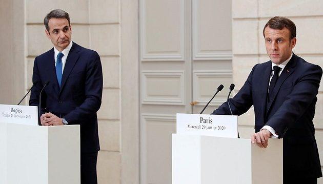 Μητσοτάκης: Προωθούμε νέο πλαίσιο αμυντικής στρατηγικής Ελλάδας-Γαλλίας