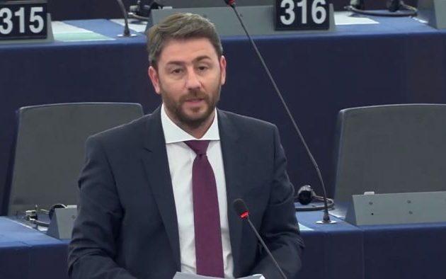 Νίκος Ανδρουλάκης: Η αβουλία της ΕΕ δίνει χώρο σε Τραμπ, Πούτιν και Ερντογάν
