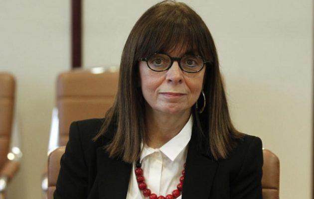 Πρόεδρος της Δημοκρατίας η Αικατερίνη Σακελλαροπούλου με 261 ψήφους – Ποιοι δεν την ψήφισαν