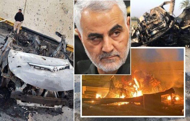 Γιατί οι Αμερικανοί ανατίναξαν με πύραυλο από ντρον τον Ιρανό στρατηγό Σολεϊμανί