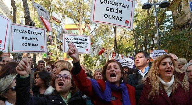 «Παντρέψου τον βιαστή σου» με τον νόμο – Μεσαιωνικές πρακτικές Ερντογάν στην Τουρκία