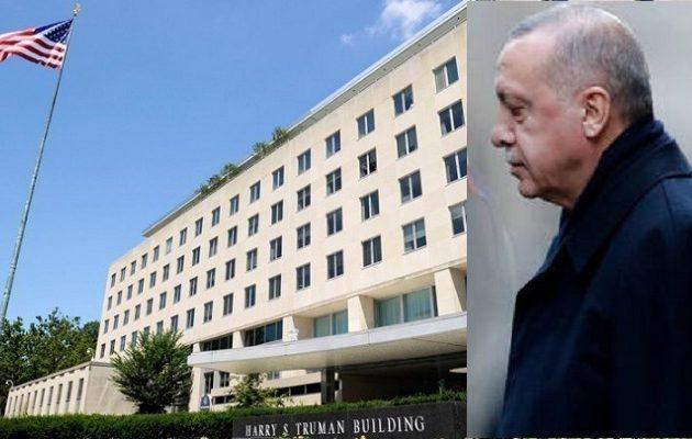Ηχηρό χαστούκι στον Ερντογάν από τις ΗΠΑ – Τον καλούν να σταματήσει τις γεωτρήσεις στην Κυπριακή ΑΟΖ