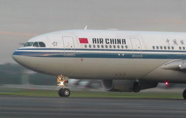 Ματαιώνονται για έναν μήνα οι πτήσεις της Air China προς την Αθήνα από τον φόβο του κοροναϊού