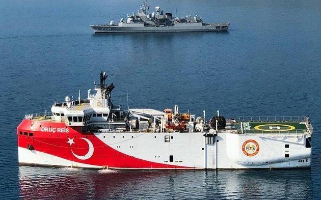 Σε εγρήγορση το Πολεμικό Ναυτικό για το Όρουτς Ρέις