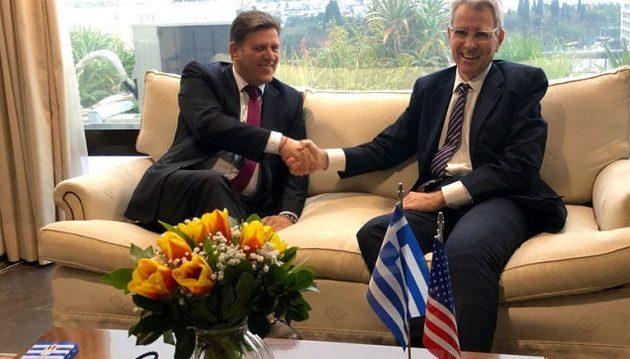 Πάιατ σε Βαρβιτσιώτη: Ηγετικός ο ρόλος της Ελλάδας στα Βαλκάνια
