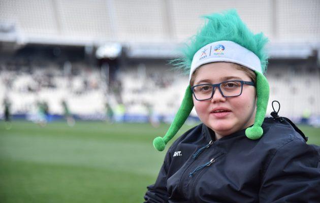 «Κερkidα ΟΠΑΠ» και Make-A-Wish: Ο μικρός Σταύρος έγινε αθλητικογράφος για μία ημέρα (βίντεο)