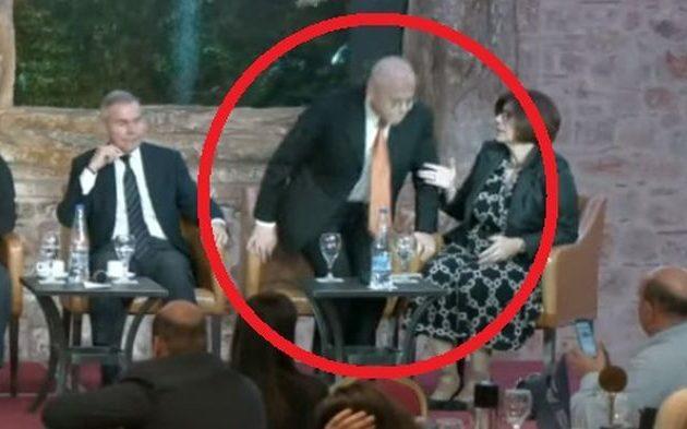 Ο Ισραηλινός Πρεσβευτής αποχώρησε από «γεωπολιτικό πάνελ» – Ο Βενιζέλος δεν έβαζε γλώσσα μέσα του (βίντεο)