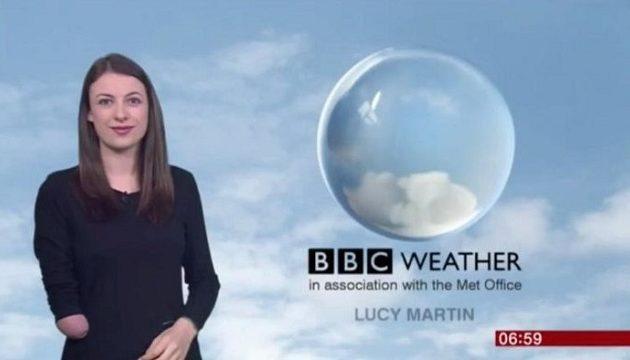 Η Βρετανίδα που έγινε η πρώτη ανάπηρη παρουσιάστρια δελτίου καιρού