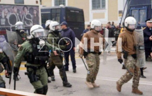 Η Αστυνομία διέλυσε συγκέντρωση διαμαρτυρίας Αφγανών στη Λέσβο