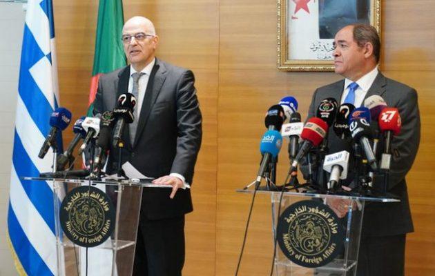 Ο Δένδιας «έσβησε» τον Ερντογάν – Η Αλγερία συμφωνεί με την Ελλάδα για τη Λιβύη