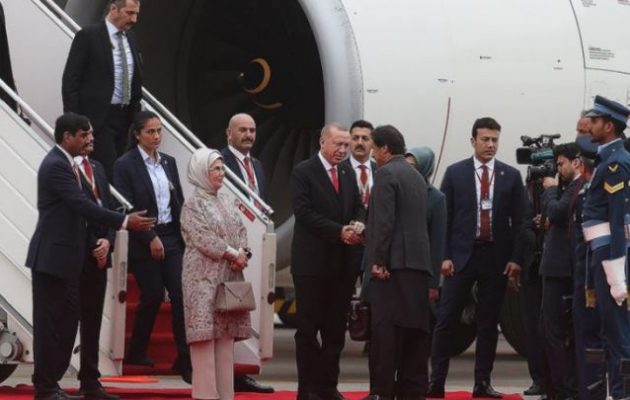Ο Ερντογάν θέλει να εμπλέξει το Πακιστάν στον πόλεμο της Συρίας – Πραγματοποιεί επίσκεψη