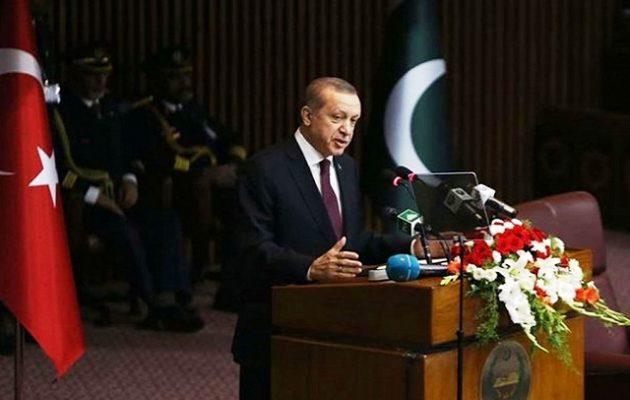 Στο Πακιστάν ο Ερντογάν: Κανείς δεν μετάνιωσε επενδύοντας στην Τουρκία