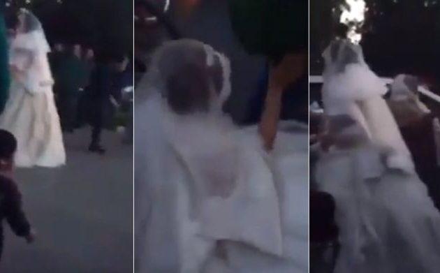 Συνελήφθη νύφη στο Ιράν επειδή δεν φορούσε ισλαμικό νυφικό (βίντεο)