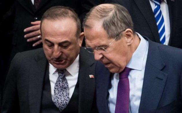 Δύσκολη συνάντηση Λαβρόφ με Τσαβούσογλου στην Αττάλεια