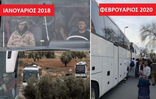 Με τα «λευκά λεωφορεία» των τζιχαντιστών μεταφέρονται μετανάστες και πρόσφυγες στον Έβρο