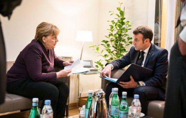 Μέρκελ και Μακρόν τηλεφώνησαν στον Πούτιν για τη Συρία – Πρόθυμοι για συνάντηση και με Ερντογάν