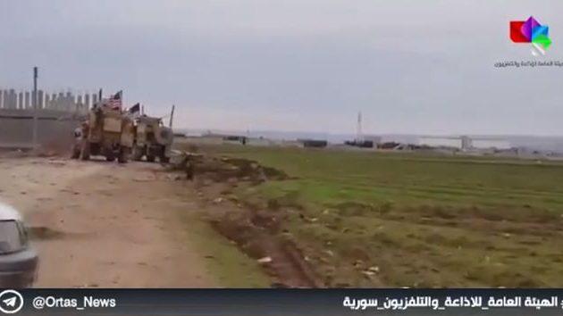 Μάχη Σύρων πολιτοφυλάκων με Αμερικανούς στρατιώτες στη Β/Α Συρία (βίντεο)