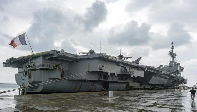 Στο λιμάνι της Λεμεσού το μεγαλύτερο πολεμικό πλοίο της Ευρώπης «Σαρλ Ντε Γκωλ»