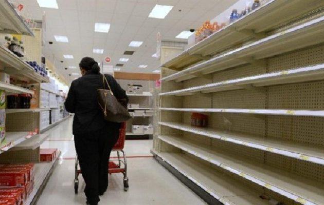 Φόβοι στην ελληνική αγορά για ελλείψεις προϊόντων λόγω κοροναϊού Covid-19