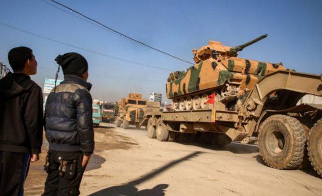 Η Τουρκία εκκένωσε επτά φυλάκια-οχυρά στη βορειοδυτική Συρία