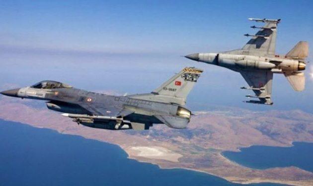 Τουρκικά F-16 πέταξαν πάνω από τους Ανθρωποφάγους