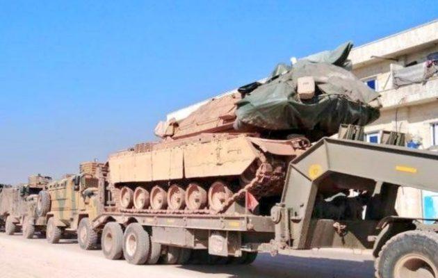 Η Τουρκία ενισχύει τις κατοχικές της δυνάμεις στην Ιντλίμπ της Β/Δ Συρίας