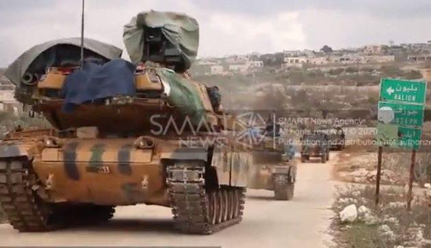 Το συριακό πυροβολικό σφυροκόπησε τους Τούρκους (βίντεο)