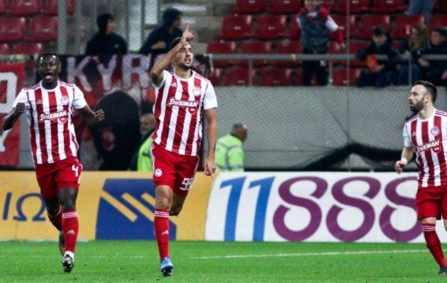 Στα ημιτελικά του Κυπέλλου Ελλάδος ο Ολυμπιακός που νίκησε τη Λαμία 3-2