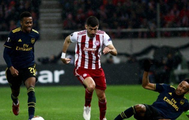 Europa League: Άδικη ήττα για τον Ολυμπιακό στο «Καραϊσκάκης» 0-1 από την Άρσεναλ