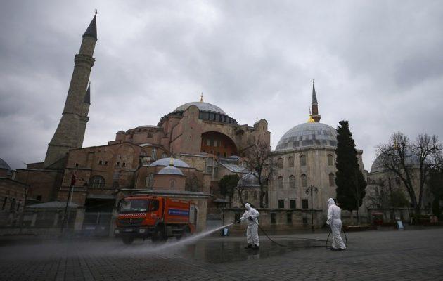 Τουρκία: 7.402 κρούσματα και 108 θάνατοι από κοροναϊό